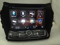 Two Din 8INCH Hyundai Santa fe 2013 dvd player 3g/wifi ipod gps sd usb mp3/4 FM/AM BT TV 4gb map Free Shipping