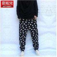 2014 Top Direct Selling Loose Flat Mens Pants Military Men Camouflage Harem Pants Casual Plus Size Hiphop Taper Unique Baggies