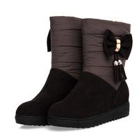 New 2014 European Women Snow Boots Warm down Winter Boots Fashion Shoes Woman