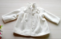 Baby girl coat for autumn winter infant new born clothes baby thickened overcoat woolen jackets size 3M 6M 9M 12M