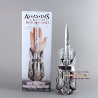 FREE SHIPPING Assassins Creed Hidden Blade Sleeve Sword weapon Brotherhood Replica 1:1 Cosplay