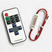 LED controller RF wireless remote Dimmable (dimmer) & 8 modes Dynamic Fan speed regulation DC 12V~24v Breathing Flashing light