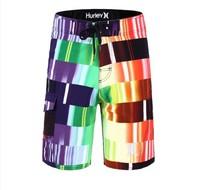 New 2014 Beach Boardshorts Mens Board Shorts Bermuda Brand Swim Shorts Surfing 2 Color Stretch