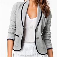 2014 new fashion woman winter clothes autumn cardigan blaser feminino suits for women atacado roupas blaiser feminino