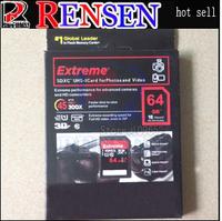 Free Shipping+Wholesale brand new  Full capacity high speed class10 sdhc sdxc16GB 32GB 64GB