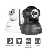 Wanscam - Wireless IP Surveillance Camera with Angle Control (Motion Detection, Night Vision, Free P2P)