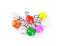 Pet Dog LED Flashing Drop Pendant Night Walk Dogs Safety Caution Glowing Hang Tag Light  50pcs/lot