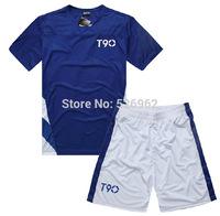 2014 New Seasons N K T90 Soccer Jersey Short-sleeve Set Paintless Jersey Football Training Suit Jersey SportswearFree Shipping