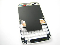 Replacement Full LCD Display + Touch Screen Digitizer + White Frame for BlackBerry Q5
