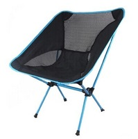 Free Shipping Ultralight camping fishing outdoor grill portable folding chair beach chair stool