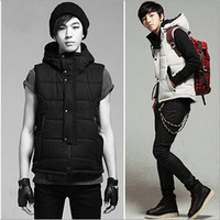 Free Shipping new Winter fashion vests men coats thermal warm cotton jackets female man Outerwear vest 2014