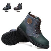 Autumn Boots Hot Sale Winter Lace-up Ankle Shoes Fashion Autumn/winter 2014 New Arrival Leisure Children Shoes Martin Boots Kids