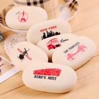 Eraser Correction Supplies Korea Soap Cobblestone Shape Eraser School Supplies Stationery Cute Kawaii