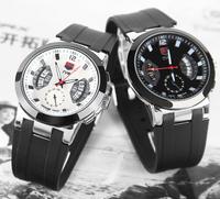 TVG Watch 2014 Men Sports Watch Luxury Brand Silicone Strap Fashion Quartz Movement Men's Military Wristwatch Watches