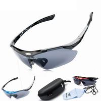 2014 NEW Men Women Cycling Eyewear Sunglass Outdoor Glasses Bicycle Bike UV400 Sports Sun Glasses 1 Lenses original Box -FN004