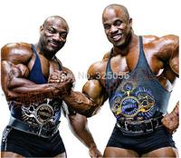 Gym bodybuilding tank top gold's gym  shoulder straps genuine Basis  men's bodybuilding training vest
