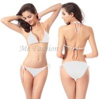 10 pieces/lot Hot Wholesale Price Summer 2014 Fashion Sexy Bikini Swimwear Shoulder Strap bikinis set Cheap Beach swimsuits