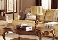 Freel shipping European luxury bedside table lamp living room lamp bedroom lamp dimmable lamp retro decor