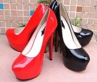 Free shipping ,wholesale 16 cm high heel shoes sexy style,5 cm platform high heel dress shoes,women's pumps, fashion shoes