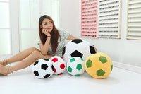 Free shipping 20CM soccer ball pillow plush toy doll fans tuba world mascot toys birthday gift 20cm/30cm/45cm