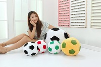 Free shipping 20CM soccer ball pillow plush toy doll fans tuba world mascot toys birthday gift 20cm/30cm/45cm