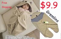 $9.9 Baby Parisarc Blanket Infant Hoodie Swaddling Fleece Sleeping Bag Cart Stroller Sack Newborn Autumn Winter Sleepsacks