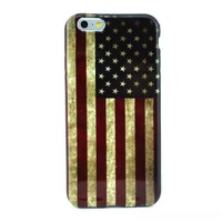 2014 New Fashion for iPhone 6 5.5 inch Hybrid USA Flag Colorful silicon TPU soft case cover skin for For iPhone 6 5.5 inch