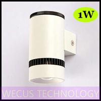 (WECUS) free shipping, American / European fashion LED wall lamp, bedroom bedside wall lamp, 1 heads 1W, XJ-BD-1218