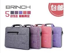 Free shipping 12 inch 14 inch laptop bag 15.6 inch 17 inch Laptop bag inner bag light Aslant portable multi-purpose laptop bag(China (Mainland))