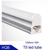 Wholesale High Quality CE ROHS 1200mm T5 16W  Led Tube Light SMD 2835 Epistar 1600LM Lamps 50pcs/lot