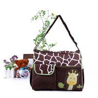 Pink Zebra Mummy Nappy Bag baby diaper bags tote diaper bag baby handbag giraffe zebra Baby Care[#200830, YW]