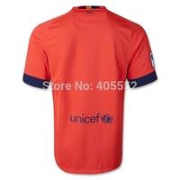 Free shipping 14-15 soccer jerseys Messi Suarez neymar