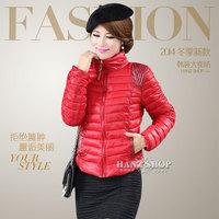 Korean version of the new women's winter fashion wild cotton short paragraph Slim Down freeshipping