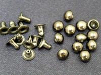 1000 sets 5mm GOLD DOME Rivet Rapid Stud for bag purse jacket jean craft project