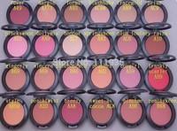 new arrive free shipping mineralize blush 10pcs/lot high quality brand makeup MC 24 color blush palette, free shipping
