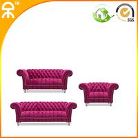 (1 +1 +3 seat)2014 beautiful fabric hotel home spa club sofa   #CE-S02