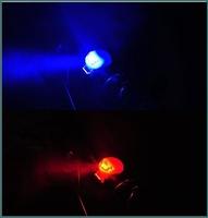 30pcs Ultra Bright Waterproof Bicycle Lights Safety Rear Lamp Bike Laser Tail Light Warning Lights [YW]