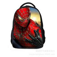 Free shipping children school bags for boys spider-man printing school backpacks mochilas school kids backpack