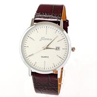 Watch Calendar Leather Female Women Acrilic Wholesale Dropship Fashion Clock Watches Scale Free Shipping