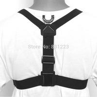 2014 Adjustable Elastic Body Chest Harness Strap Mount Belt for Gopro Hero 1 2 3 HERO3+ Hot Sale Camera Accessory