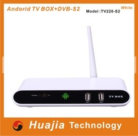 Best selling 1080p android tv box dvb S2 +8GB