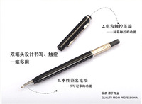 Two in one Write and touch pen for iphone, samsung note, one desire