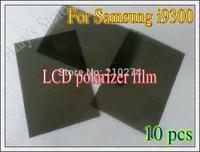 Freeshipping~10pcs lcd screen polarized film / lcd screen film thick screen polarized film For Samsung Galaxy S3 SIV I9300