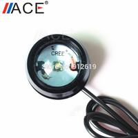 Cree R3 LED Chip Daytime Running Light Strobe Light Aluminum Alloy Black Shell Flash Lamp Reverse Bulb Universial Turn Signal