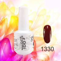 12PCS set  From IDO Gel nails High Grade and professional soak off UV color  15ml/0.5oz   long lasting polish