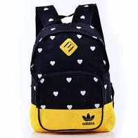 Free shipping children school bags love printing unises school backpacks mochilas school kids peppa pig backpack