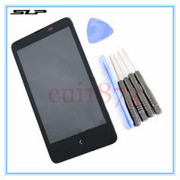 Black Touch Digitizer LCD Display Assembly Frame For Nokia X A110 RM-980 LCD + Tools