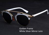 2014  5 Colors Plastic  Wrap Cat Eye Glasses 2014 New Vintage Fashion Summer Cool Sunglasses Women Men Brand Designer