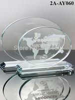 high quality best selling new design Jade Glass Award  Revolution Glass Award