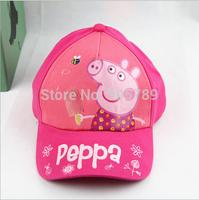 Peppa Pig Baseball Caps Kid Summer Sun Hat Canvas Caps